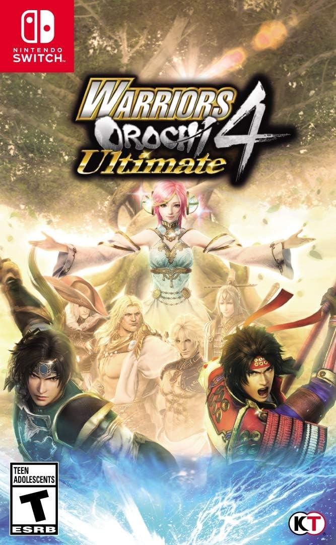 Amazon.com: WARRIORS OROCHI 4 Ultimate - Nintendo Switch ...