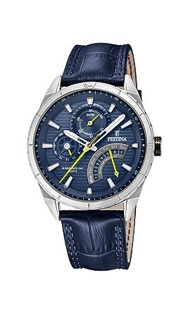 Leder Herren Festina Quarz Armband Mit Analog F169862 Uhr xQCerBWdo