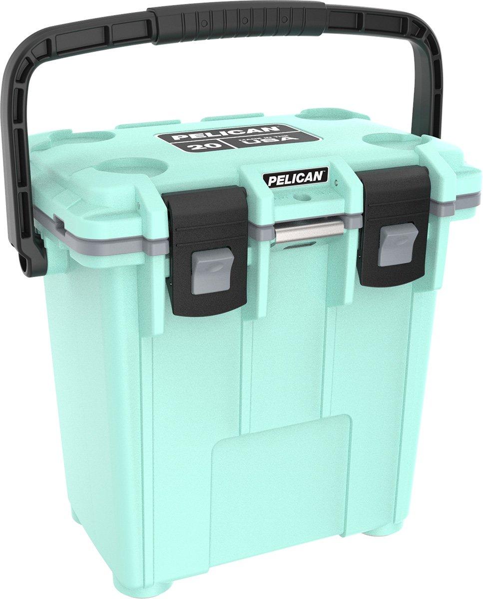 Pelican Elite 20 Quart Cooler (Seafoam/Gray)