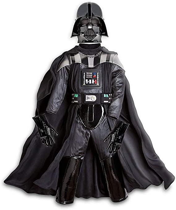 "Star Wars Morphuit Darth Vader Fancy Dress {Size Medium For Height Below 5/'4/""}"