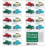 Pickup Trucks USPS Forever Stamp 1938 International Harvester D2 1948 Ford F1 1953 Chevrolet 1965 Ford F100 1 Book of 20 Stamps