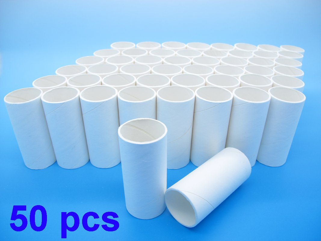 Pack of 50 Disposable Cardboard Mouthpieces (Compatible for Contec Spirometer SP10)