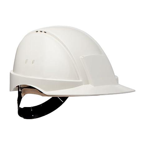 3M G2000 Casco blanco con ventilización, arnés estándar y banda de ...