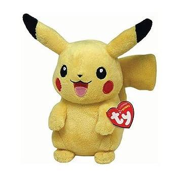 Ty Pokemon Pikachu - Peluche, 15 cm