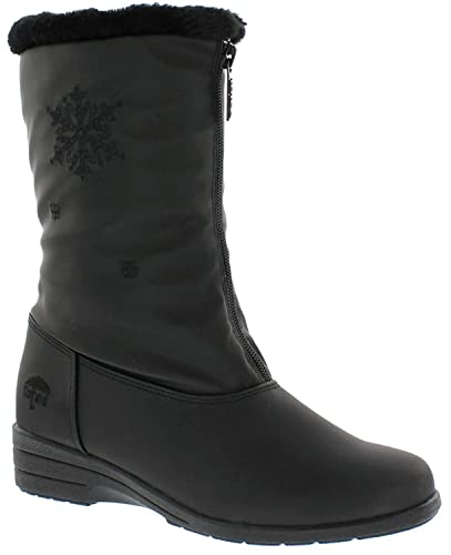Totes Stride 2 Waterproof Snow boots Womens Boots Black 7  US / 5 UK T