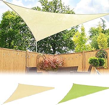 Sguan-wu Triángulo Sun Shelter Protección para sombrillas Techo al ...