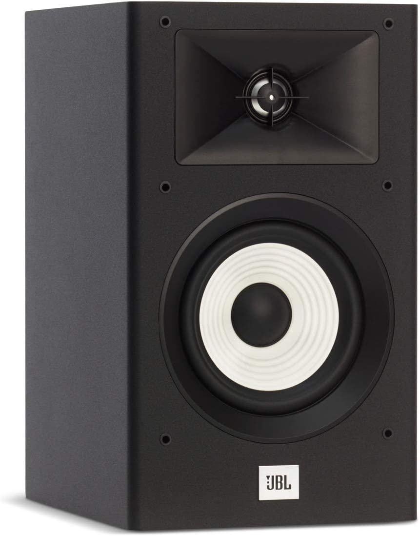 Bookshelf Speakers Black Pair Renewed JBL Stage A130