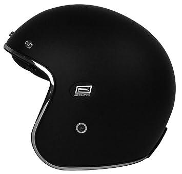 Origine Helmets 202587020100102 Sirio Solid Flat Casco Jet de fibra de carbono, Negro, XS