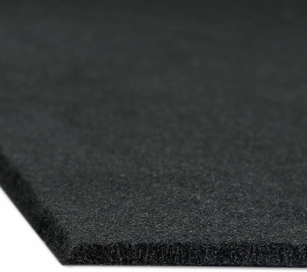 Alfombra aislante para obreros 30 x 30 cm negro : aprox ign/ífugo