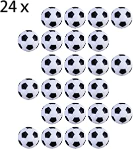 Tomkity 24pz Pelotas para Futbolín Mesa Futbolín Balones Fútbol ...