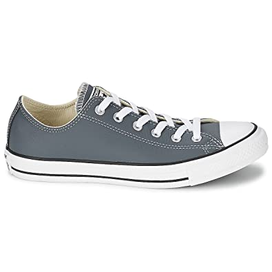 Converse Chuck Taylor OX 144667C Admiral Grey Trainers for Womens