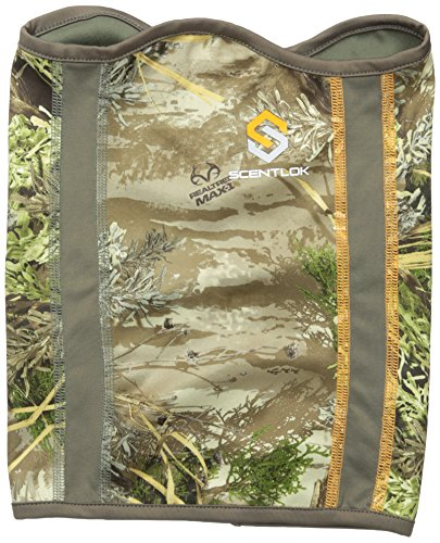 Scent-Lok Men's Savanna Lightweight Multi-Panelled Gaiter, Realtree Max, One - 1 Max Camo