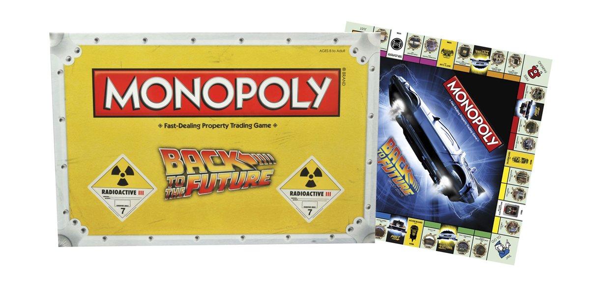 Back to the Future Monopoly Board Game Diamond Comic Distributors JUL152198 Games