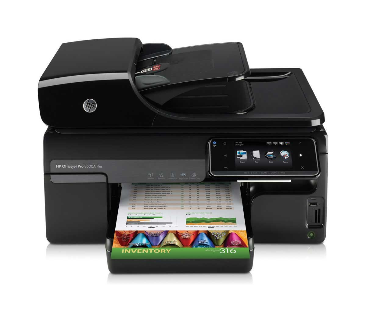 Amazon.com: HP Officejet Pro 8500A Plus Wireless e-All-in-One (CM756A#B1H):  Electronics