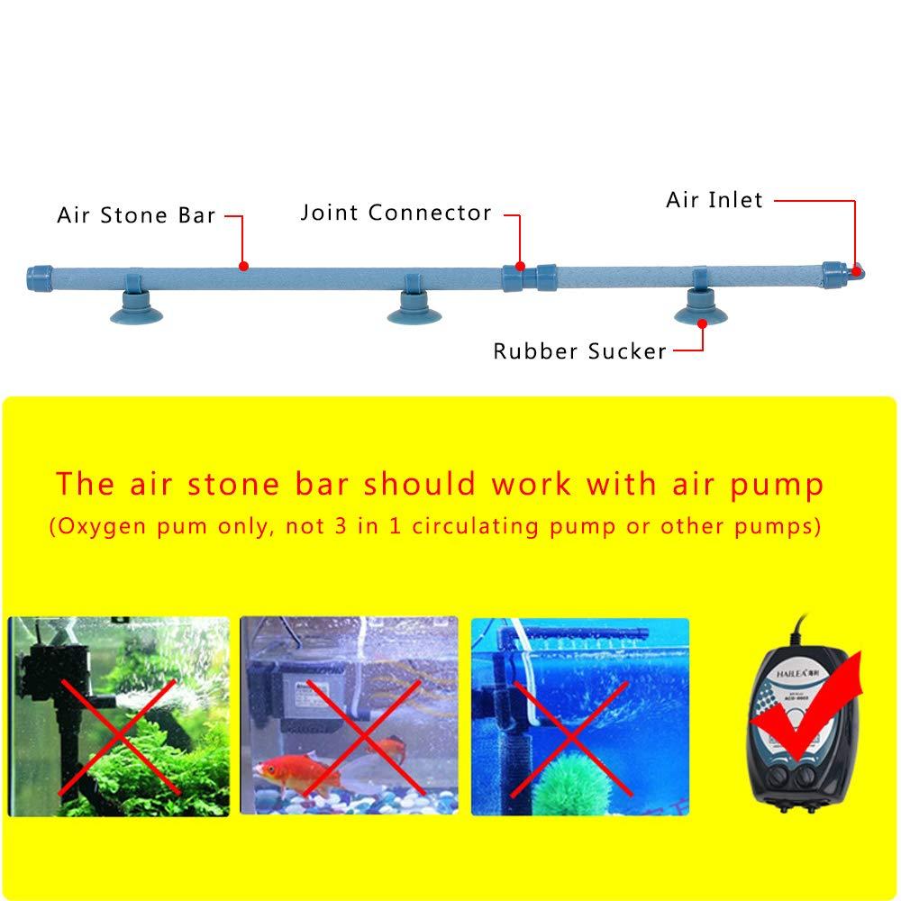 Fesjoy Acquario Bubble Wall Air Stone Diffusore dAria