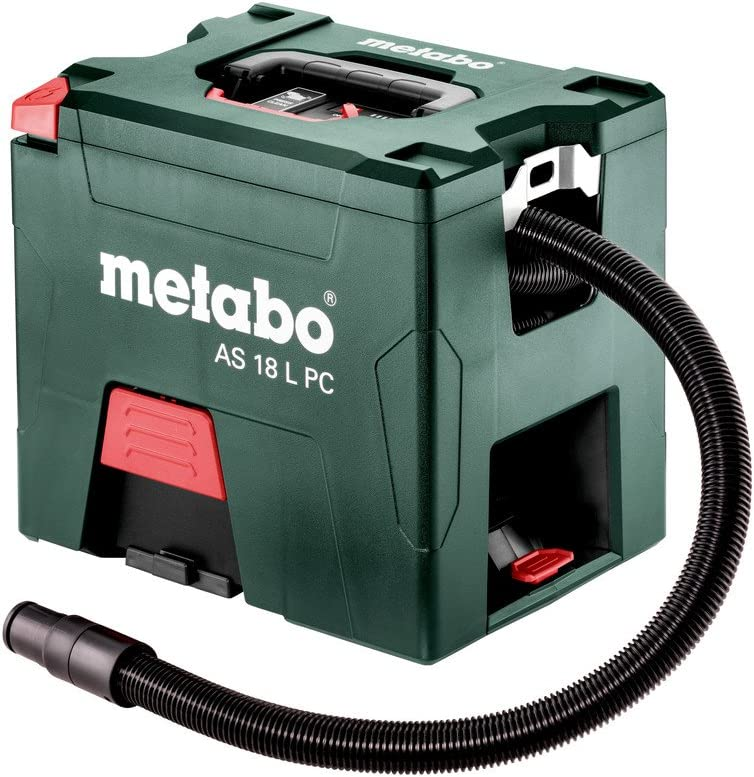 Metabo 602021850 602021850-Aspirador a bateria 18V Ah Li-Ion AS 18 L PC con maletin: Amazon.es: Bricolaje y herramientas