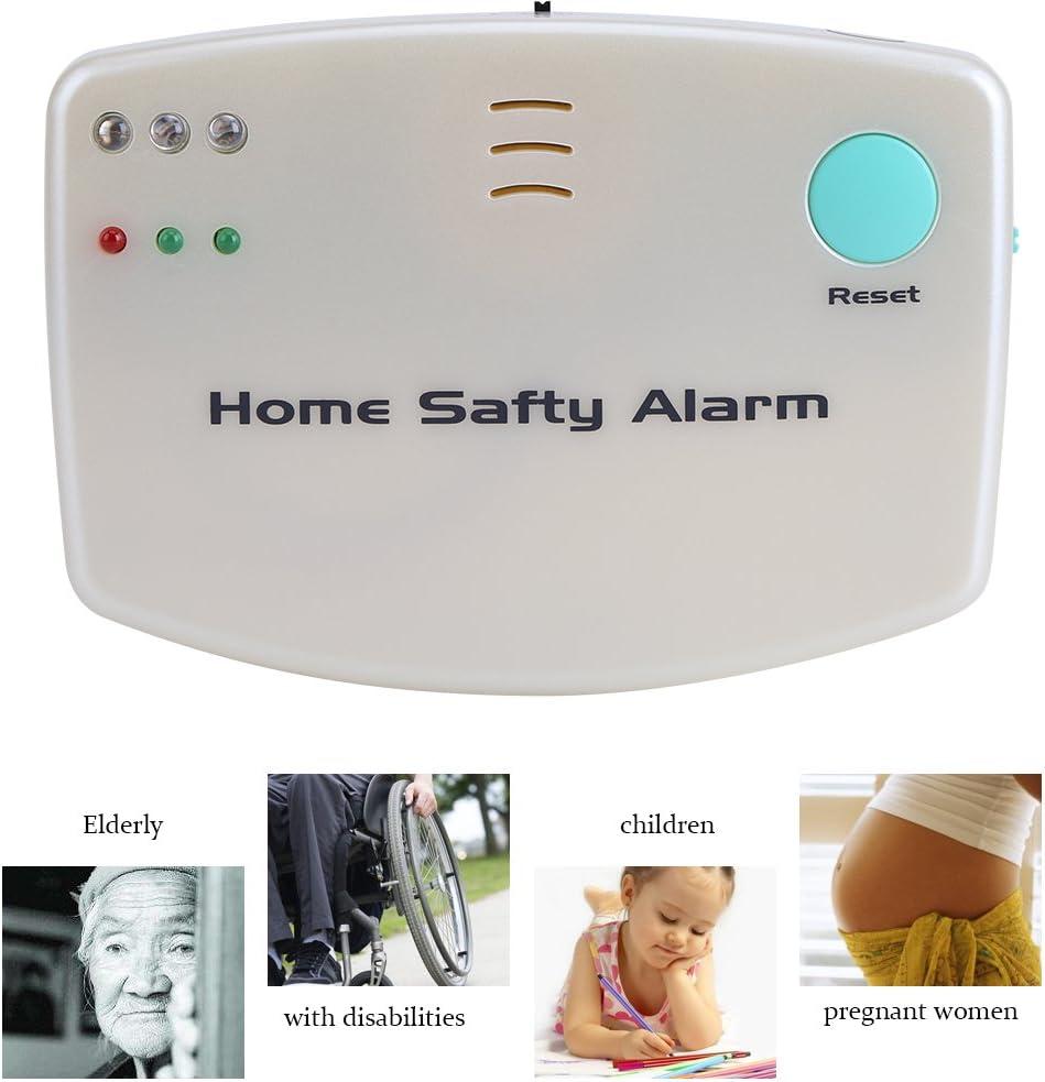 Zunate Alarma de Seguridad para Hogar Atención de Emergencia Sistema de Llamada Médica Monitor Alerta para Médica Paciente