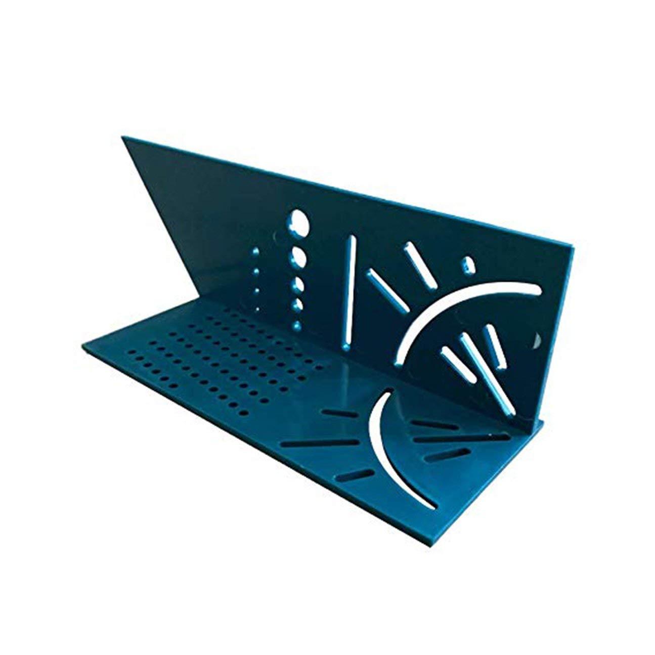 couleur: r/ègle verte MachinYesell MachinYesell Menuiserie 3D Mitre Angle Mesure Carr/é Taille Mesurer Outil Avec Gauge /& Ruler Tools