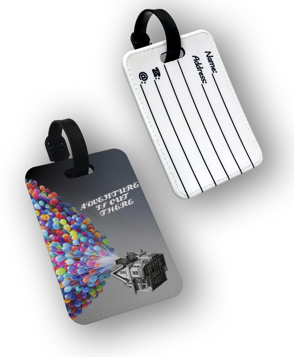 Adventure is out there Up Disney House Travel Bag Luggage Tags