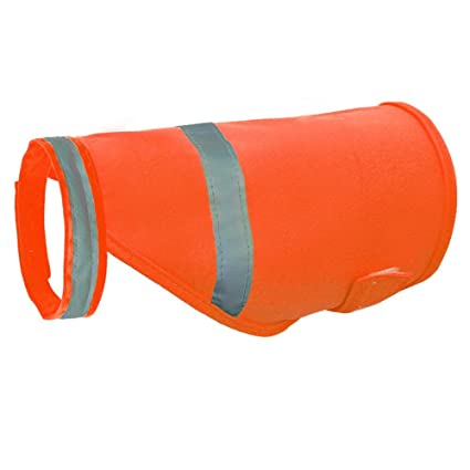 Aquir Chaleco Reflectante de Seguridad para Perros, Pets Seguridad Fluorescente Luminous Pet Ropa Impermeable Ropa para Caza, Senderismo, Footing y ...
