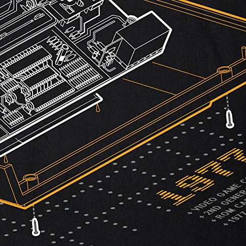 nerd Top Tank Retro camiseta Gamer Men Otra Classic Top 1977 Tank personal Hormiga Anno Vcs2600 Computadora E0qFp4xA