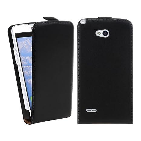 kwmobile Funda para LG L80 - Carcasa para móvil de [Cuero ...