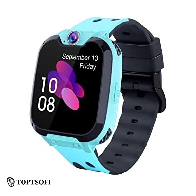 TOPTSOFI Gifts for 3-10 Year Old Boy Smart Watches for Kids Toddler Watch with Camera USB Charging: Toys & Games