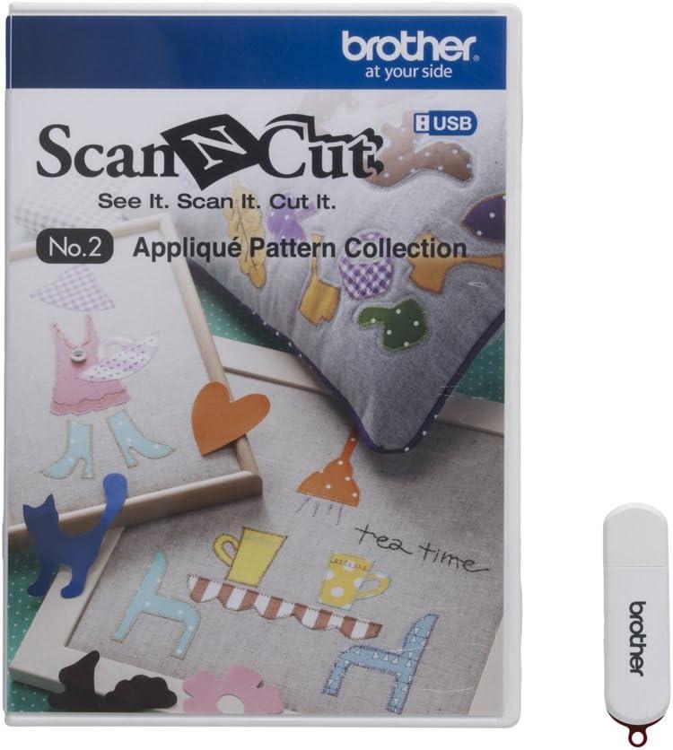 Brother CAUSB2 Scan-N-Cut n. 2 - Colección de Patrones para ...