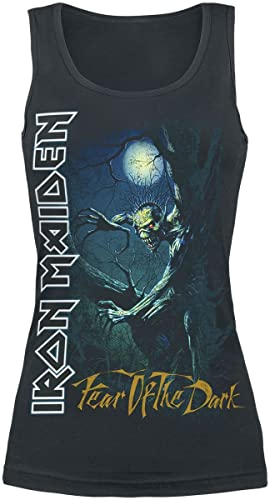 Iron Maiden Fear Of The Dark Top donna nero
