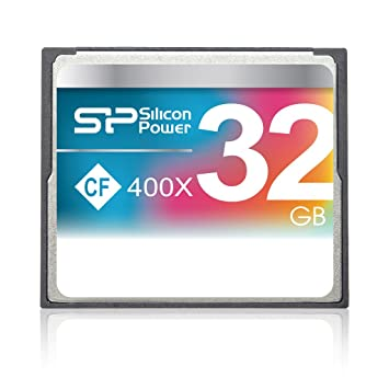 Silicon Power 32GB Compact Flash 400X 32GB CompactFlash ...