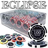 Brybelly Holdings PCS-3001A 200 Ct Pre-Packaged Eclipse 14 Gram Chips - Acrylic Tray