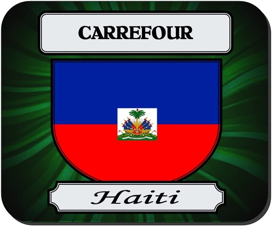 Carrefour, Haití ciudad alfombrilla de ratón: Amazon.es ...