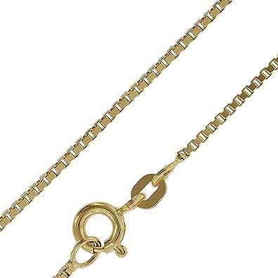 Venezianerkette Halskette 333 Gold Gelbgold Collier Goldkette Echtgold Schmuck