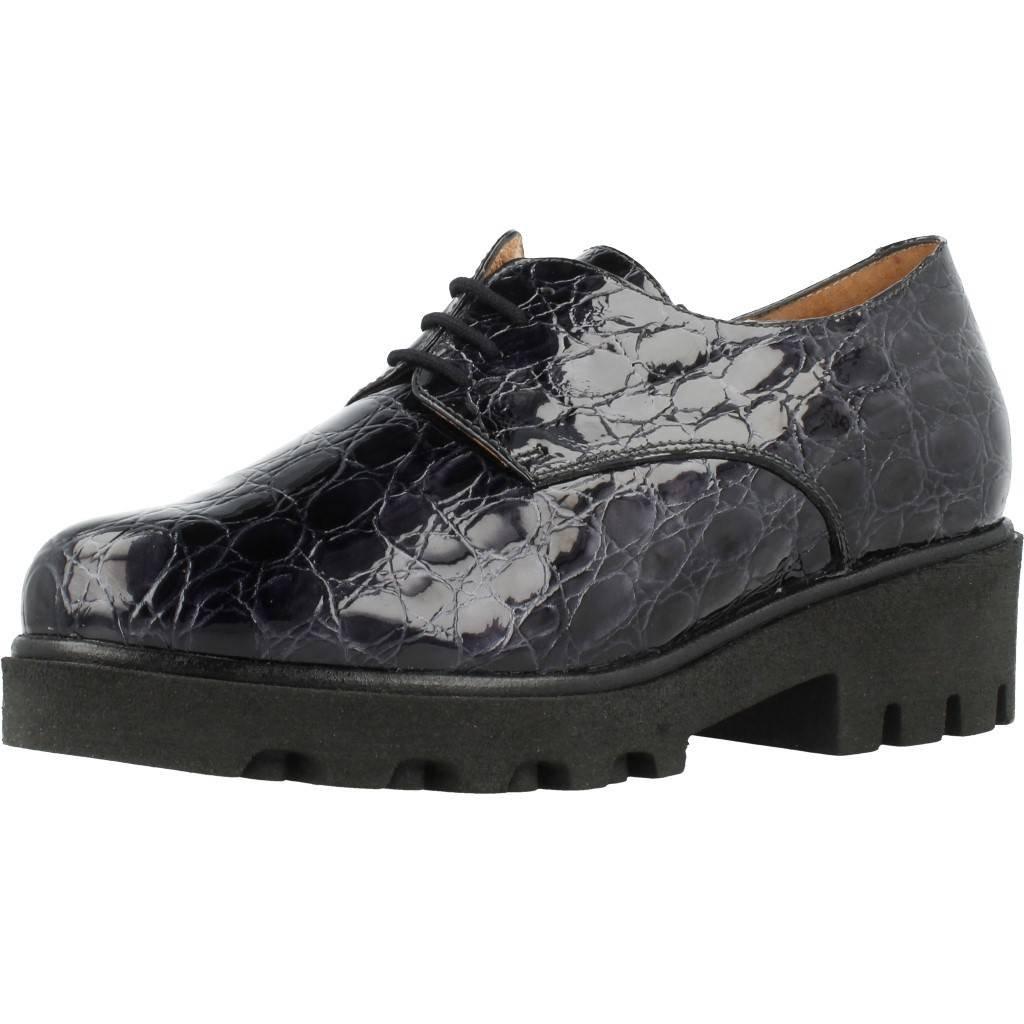Zapatos de Cordones para Mujer, Color Gris, Marca PIESANTO, Modelo Zapatos De Cordones para Mujer PIESANTO 175551 Gris 41 EU|Gris