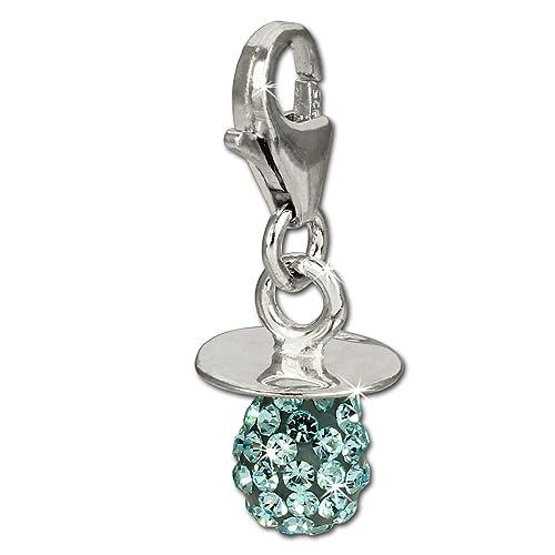SilberDream parpadeo bijoux-Charm-Cadena para chupete, color ...