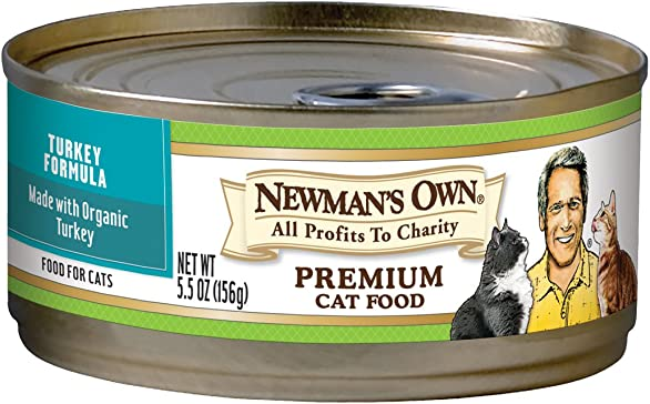 Newman S Own Premium Canned Formulas For Cats