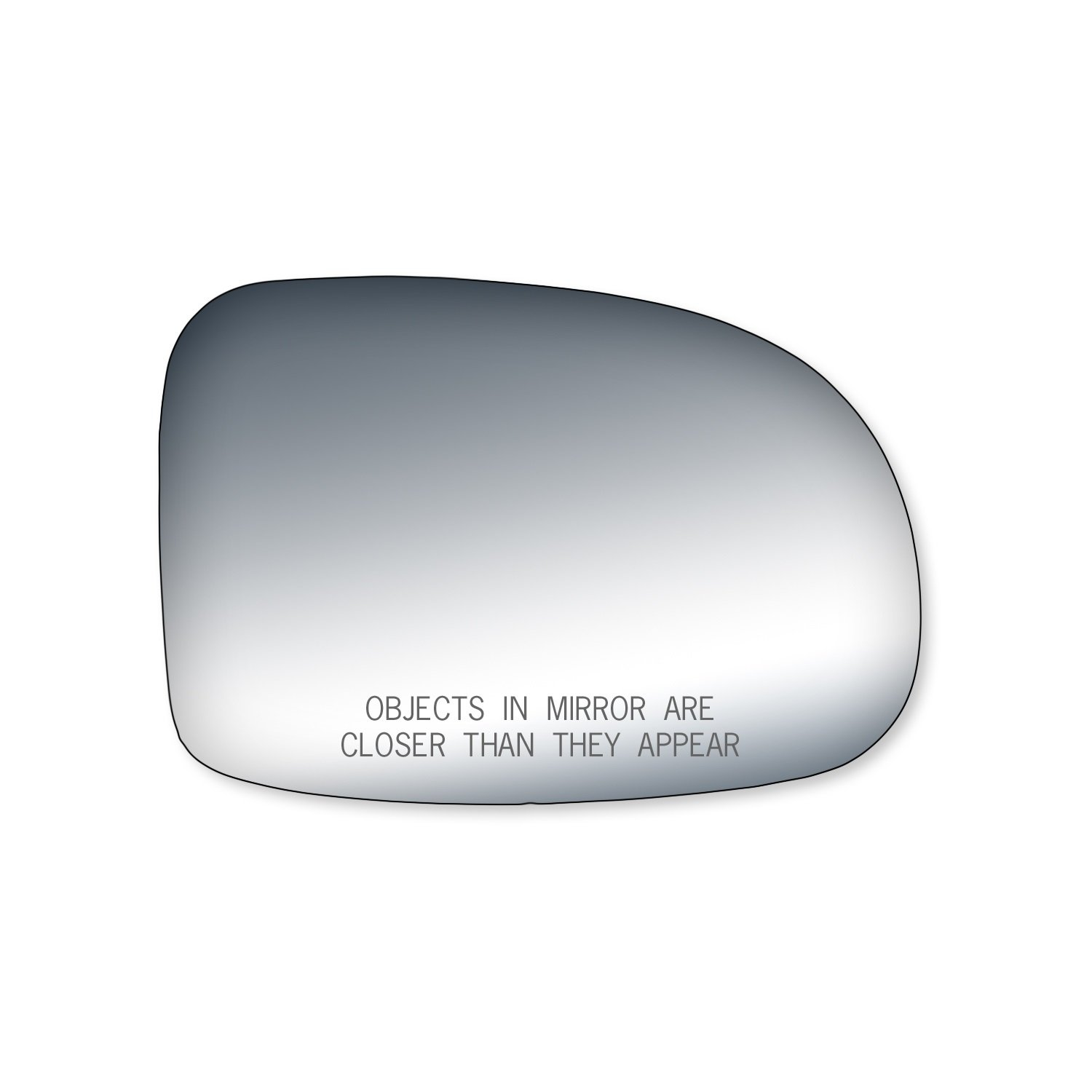 Well Wreapped Fit System 90038 Ford Windstar Passenger Side 2003 Exhaust Replacement Mirror Glass