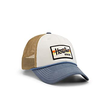 2c9a85937ff4a Howler Brothers Electric Stripe Standard Hat - Offwhite Blue