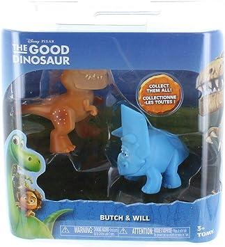 Disneys The Good Dinosaur Mini Figure 2-Pack: Butch & Will: Amazon.es: Juguetes y juegos