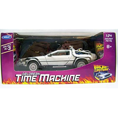 Welly Delorean Car from The moovie Back TO The Future I - Scale 1:24: Juguetes y juegos