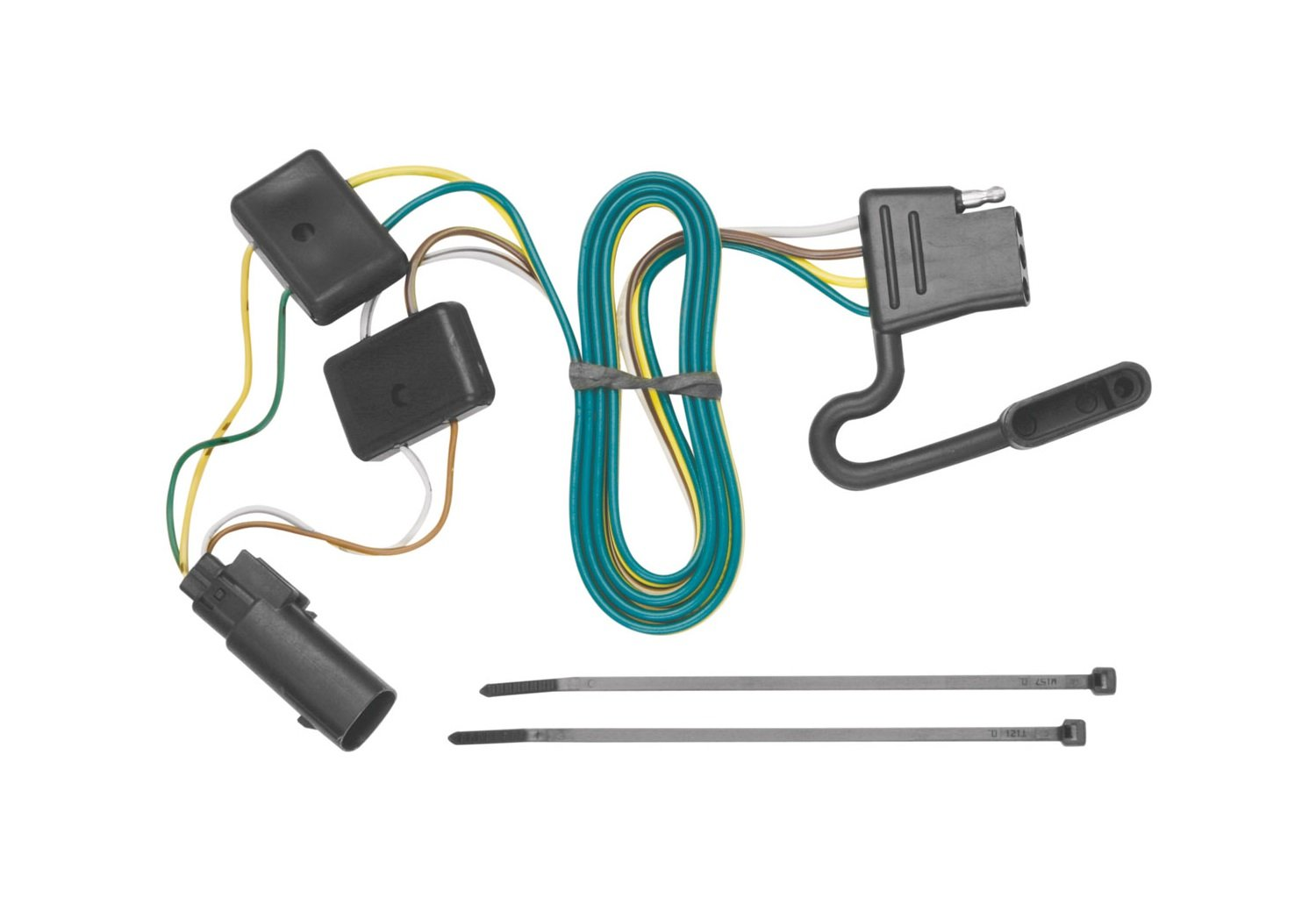 Amazon.com: Tekonsha 118251 4-Flat Tow Harness Wiring Package: Automotive