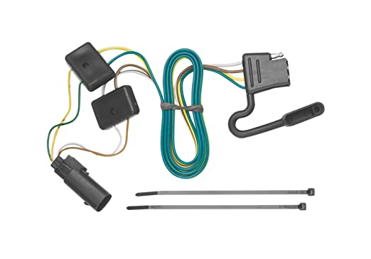 61tZA56I15L._SX522_ amazon com tekonsha 118251 4 flat tow harness wiring package Trailer Light Wiring Kits at fashall.co