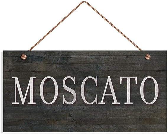 INNAPER Moscato Wine Sign