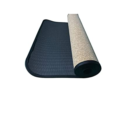 Amazon.com : 4MM/5MM/6MM Edge Covered Yoga Mat TPE+Cork Eco ...