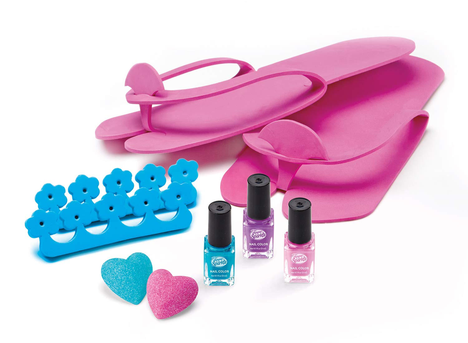 CRA-Z-ART Shimmern Sparkle SPA Set de cosmética para pies y pedicura ColorBaby 43921: Amazon.es: Juguetes y juegos