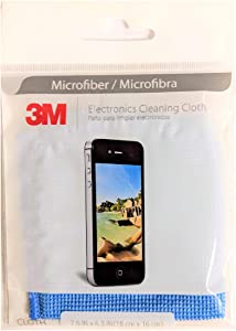 3m Microfiber Lens Cleaning Cloth, Colors May Vary, 1-Count