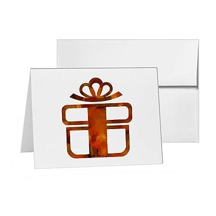 Bono de regalo de cumpleaños, caja de regalo, en blanco ...