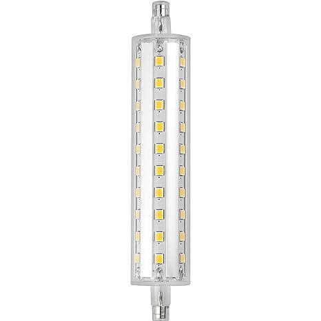 MARINO CRISTAL PRO EVO - Bombilla lineal LED R7S de 118 mm, 11 W,
