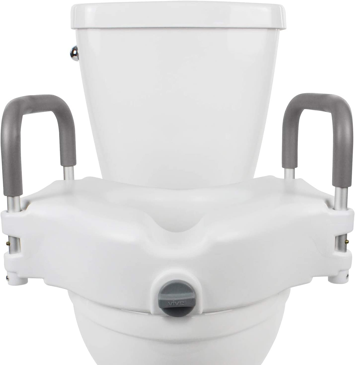 Amazon.com: Vive Raised Toilet Seat   5