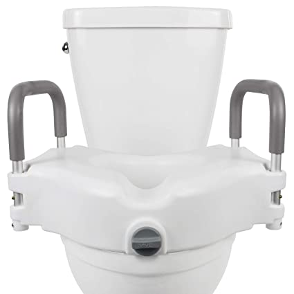 Phenomenal Vive Raised Toilet Seat 5 Portable Elevated Riser With Padded Handles Elongated And Standard Fit Commode Lifter Bathroom Safety Extender Uwap Interior Chair Design Uwaporg